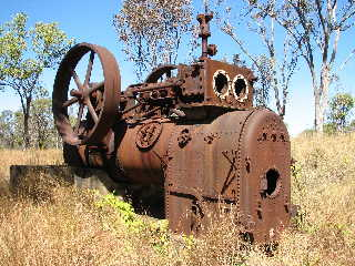 Abandoned Portable Engine in Northern Territory, Australia.